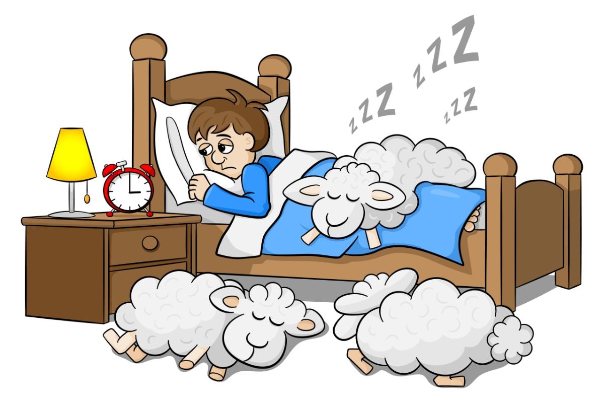 Nespavosť - nedostatok horčíka cez deň môže spôsobiť ťažkosti v noci